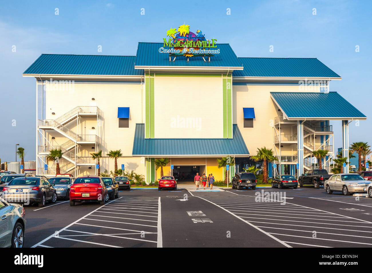 Guests Leaving Jimmy Buffett S Margaritaville Casino And