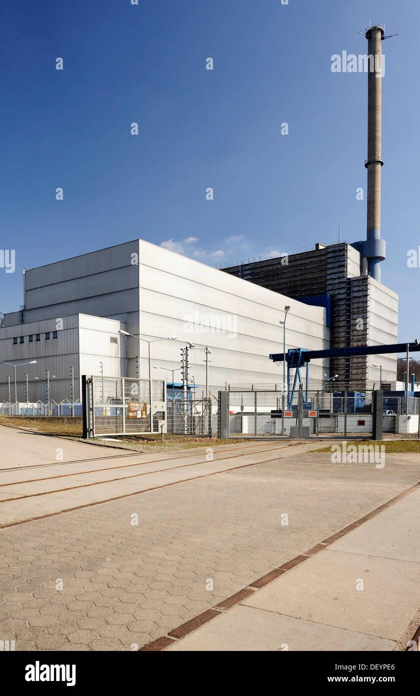 Nuclear power Kernkraftwerk Kruemmel in Geesthacht, Schleswig-Holstein - Stock Image