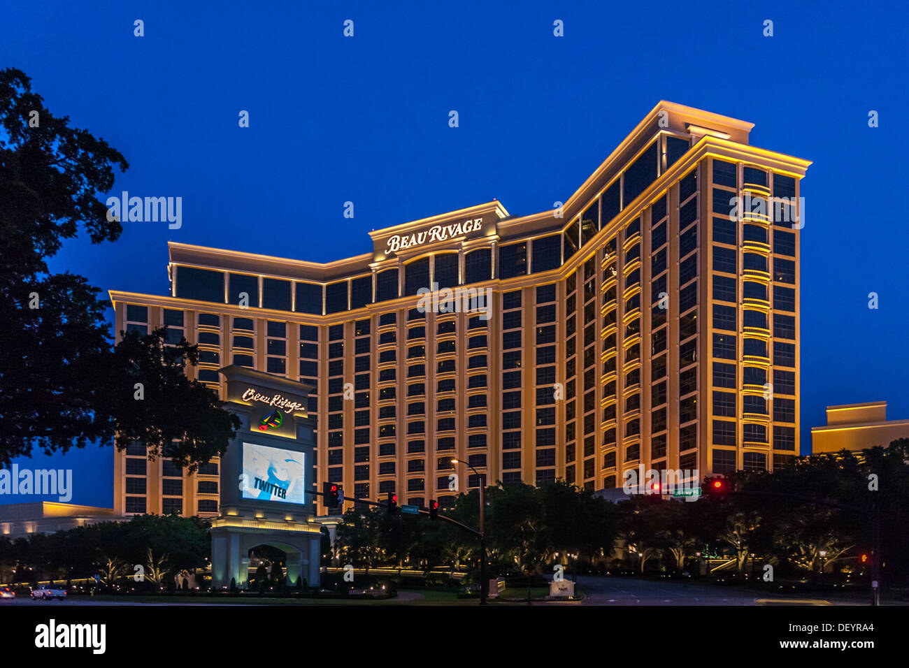 Beau Rivage Casino On The Mississippi Gulf Coast In Biloxi Ms