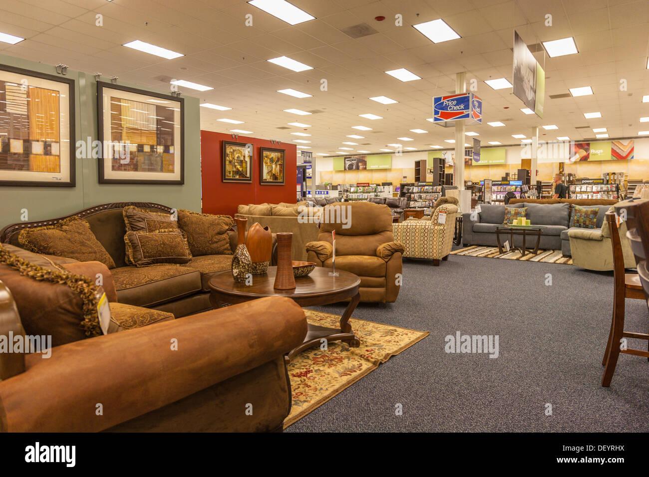 Living Room Furniture For Sale Inside The Base Exchange Store At Keesler  Air Force Base In Biloxi, Mississippi