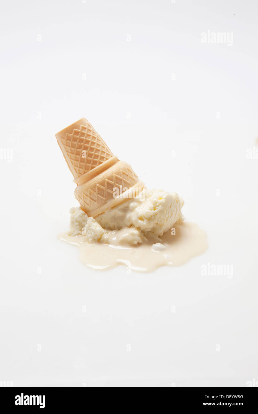 ice cream cone - Stock Image