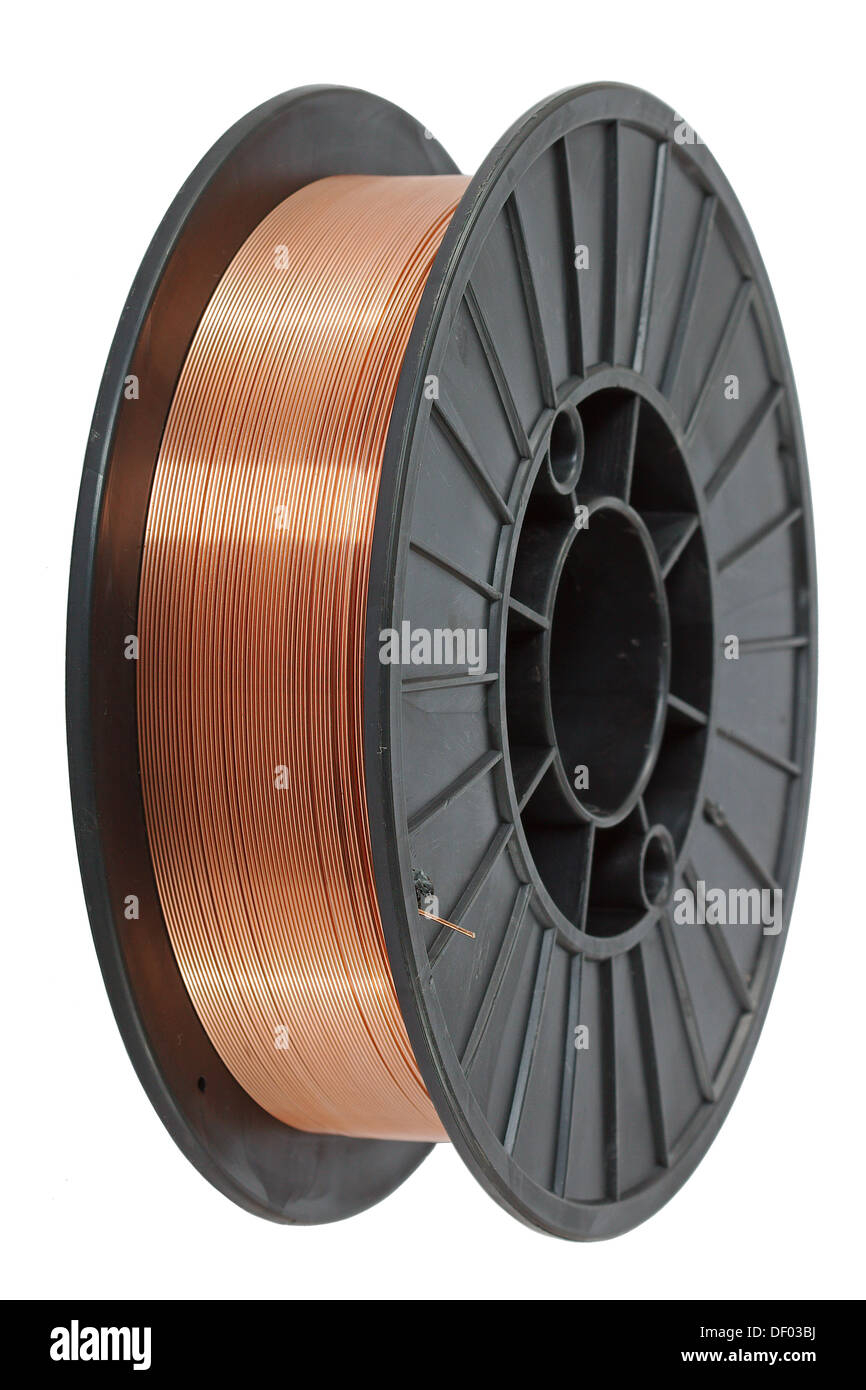 Copper Wire Spool Stock Photos & Copper Wire Spool Stock Images - Alamy