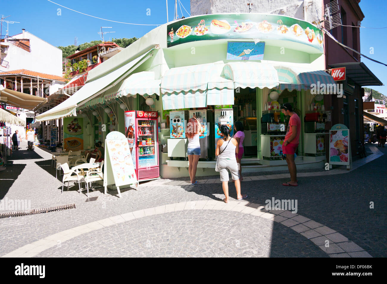 Greek Ice Cream Stock Photos Amp Greek Ice Cream Stock