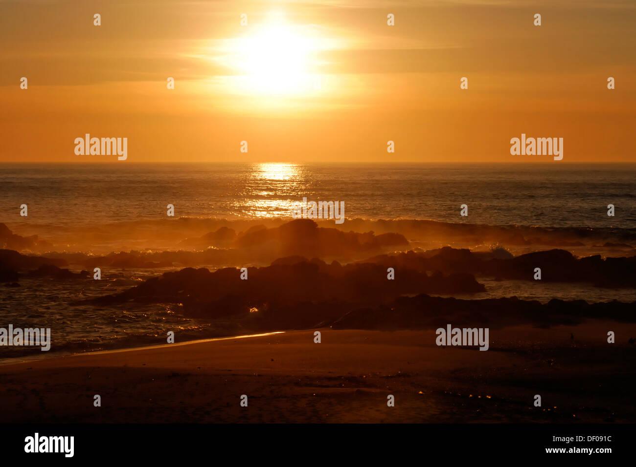 Sunset at Vila Cha, Porto, Northern Portugal, Portugal, Europe Stock Photo