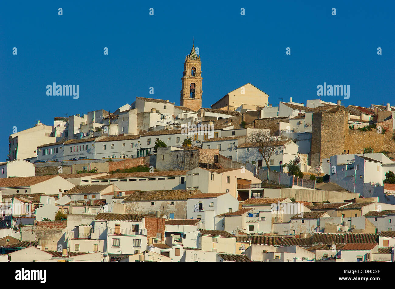 Baena, Route of the Caliphate, Cordoba province, Andalusia, Spain Stock Photo