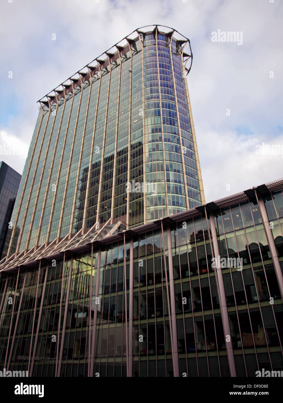 View of CityPoint, the fifth-tallest building in the City of London, London, England, United Kingdom - Stock Image
