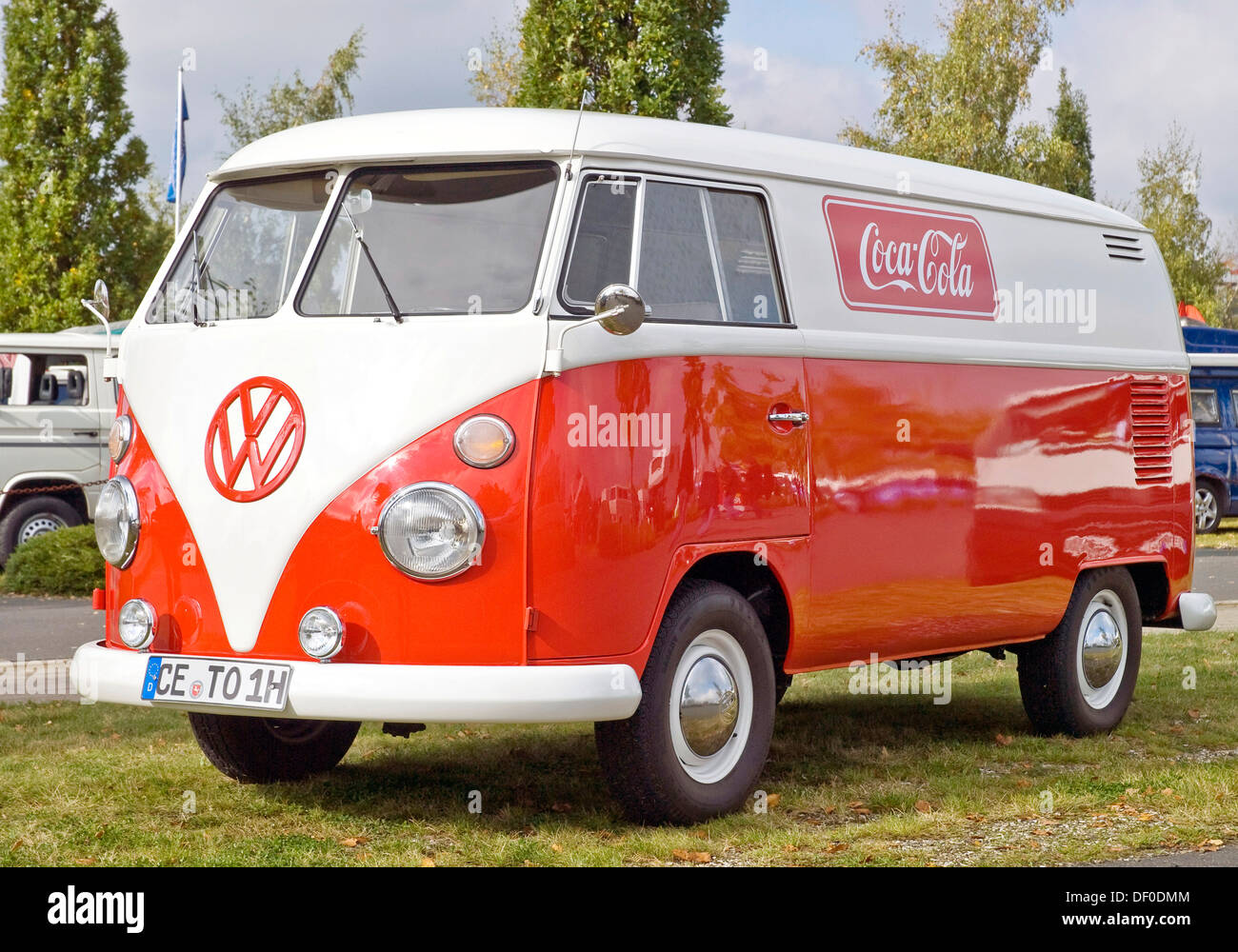 Vw t1 stock photos vw t1 stock images alamy vw t1 with coca cola advertising stock image altavistaventures Image collections