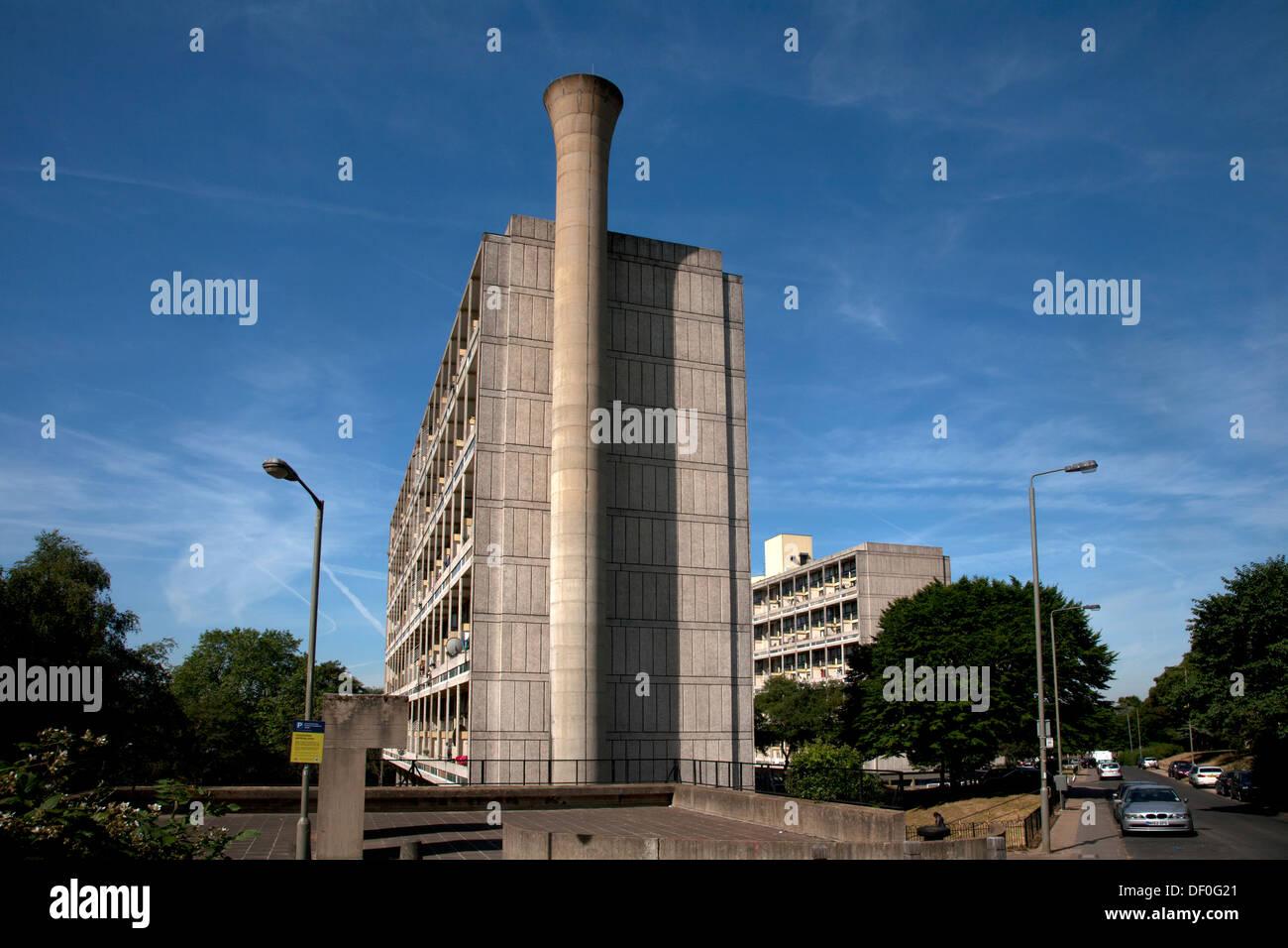 Highcliffe Alton West Alton Estate Roehampton London England - Stock Image