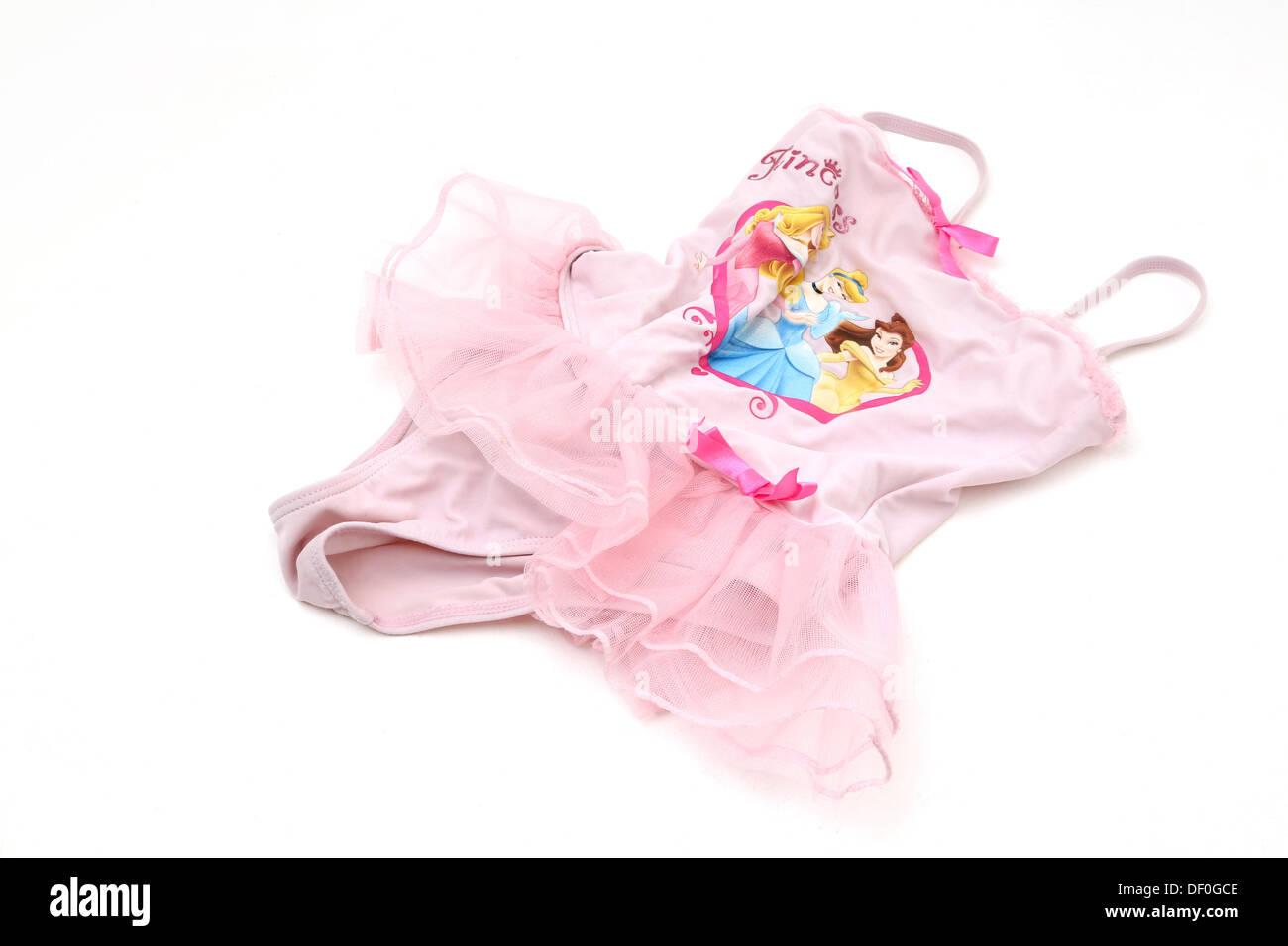 Girls Princess Swimming Costume  sc 1 st  Alamy & Girls Princess Swimming Costume Stock Photo: 60863838 - Alamy