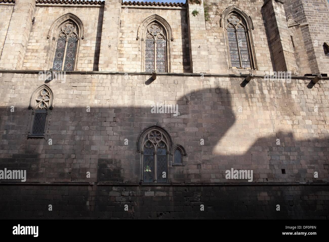 Plaça del Rei, Barcelona, Catalonia, Spain - Stock Image