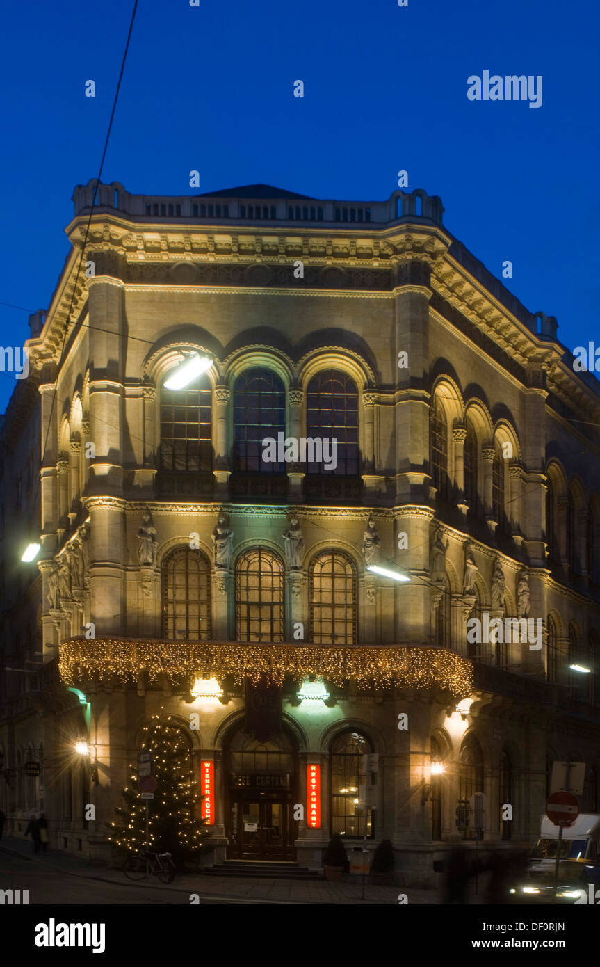 Österreich, Wien 1, Cafe Central im Palais Ferstel, Herrengasse 14 - Stock Image