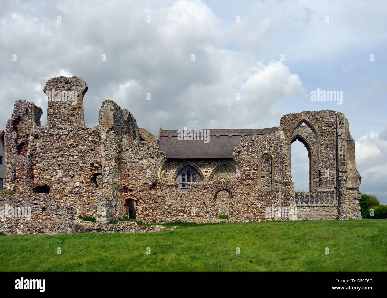 Leiston Abbey, Suffolk, England, United Kingdom, Europe. - Stock Image
