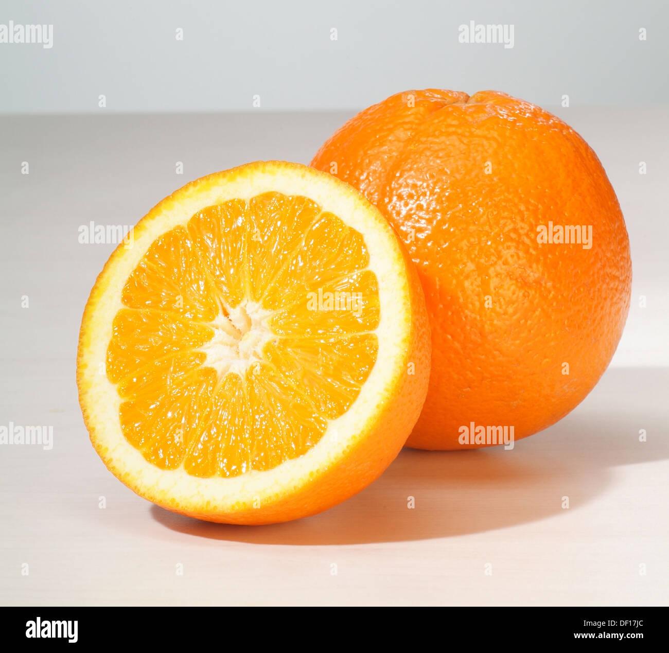 Hamburg, Germany, oranges Stock Photo
