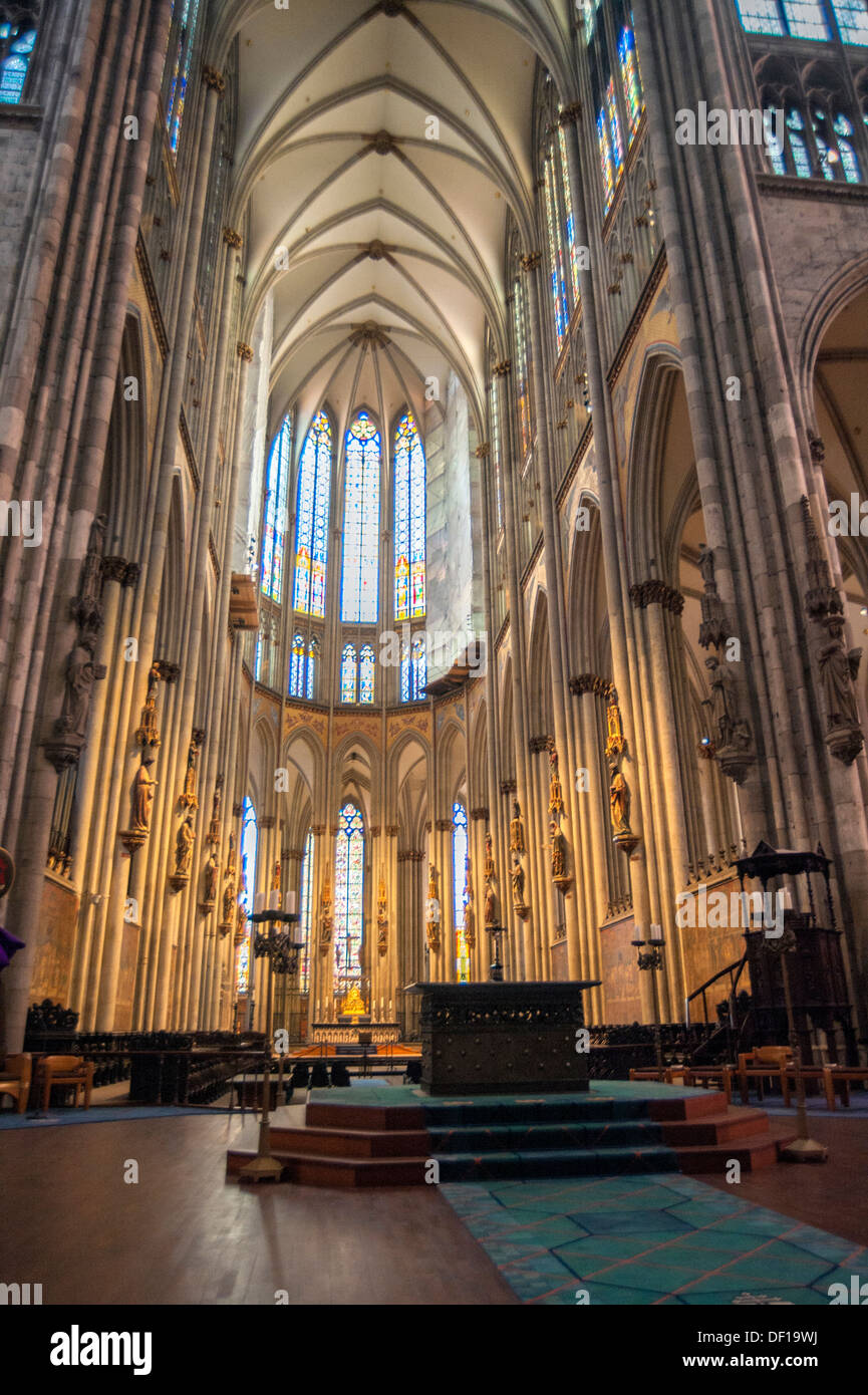 Cologne Cathedral Interior Stock Photos Cologne