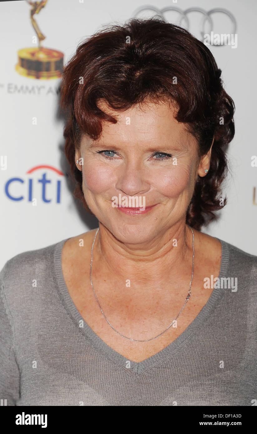 IMELDA STAUNTON English film actress in September 2013. Photo Jeffrey Mayer - Stock Image
