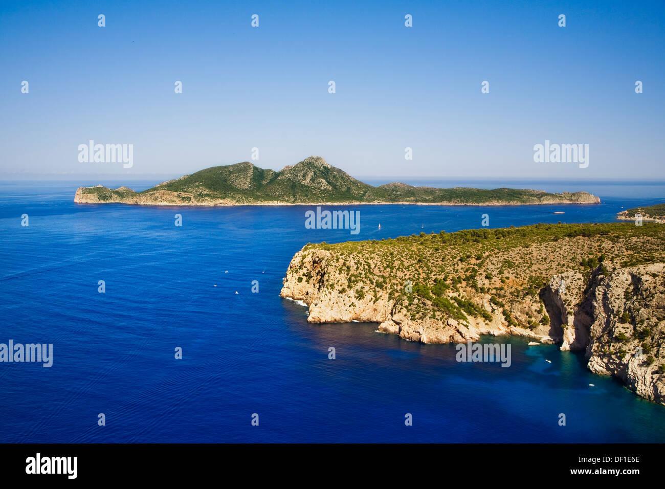 Sa Dragonera island, Majorca, Balearic Islands, Spain Stock Photo