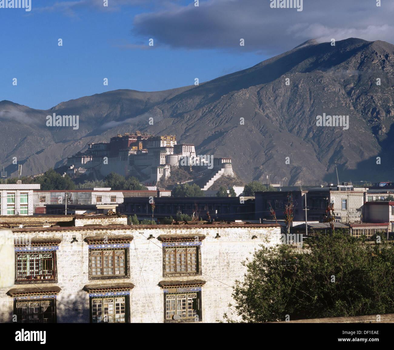 Lhasa. Tibet - Stock Image