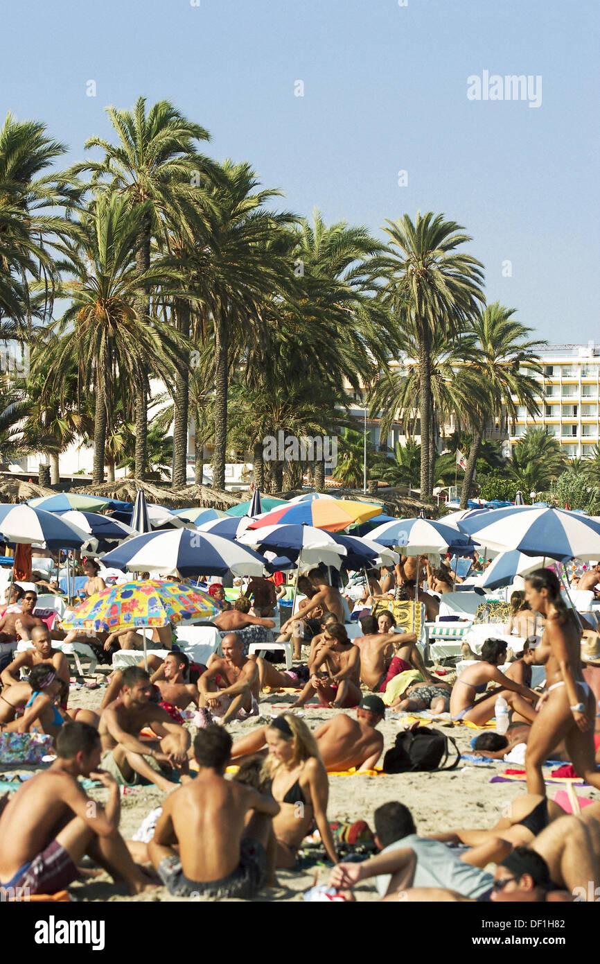 f368f0774c Bora Bora Beach Ibiza Stock Photos & Bora Bora Beach Ibiza Stock ...