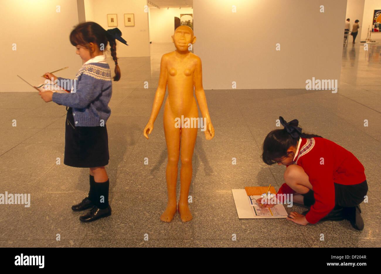 ´Lucy´ by Dora Garcia (1994) in ´La Colección II. Arte español desde 1960 hasta la actualidad´ in Sala Sur. Artium - Stock Image