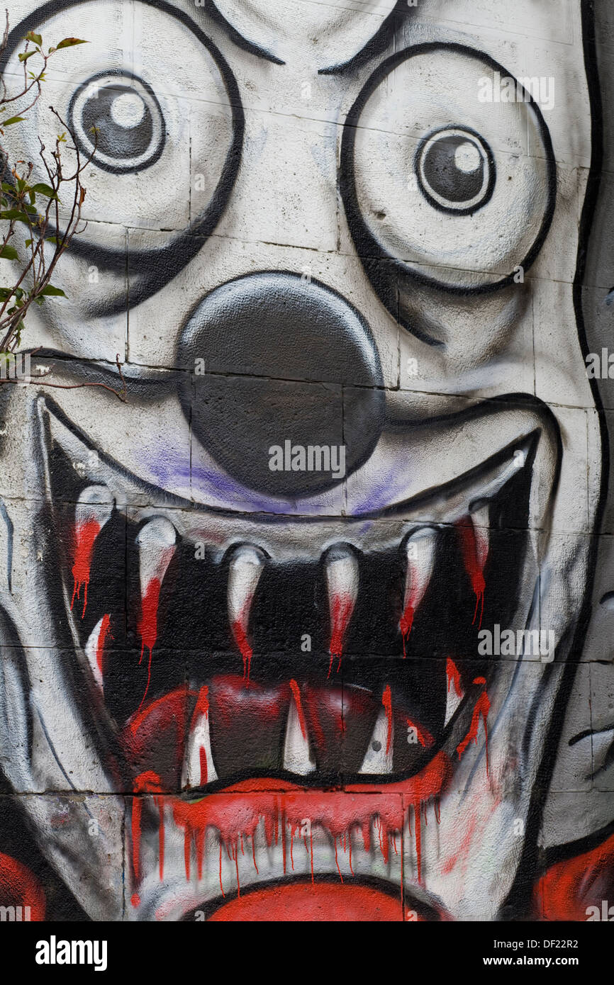 Scary Clown Drawing High Resolution Stock Photography And Images Alamy