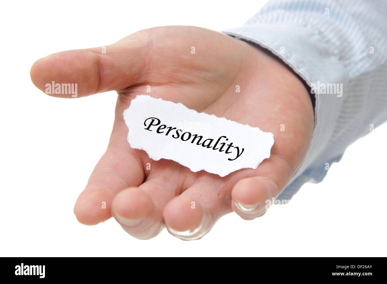 Personality - Note Series - Stock Image