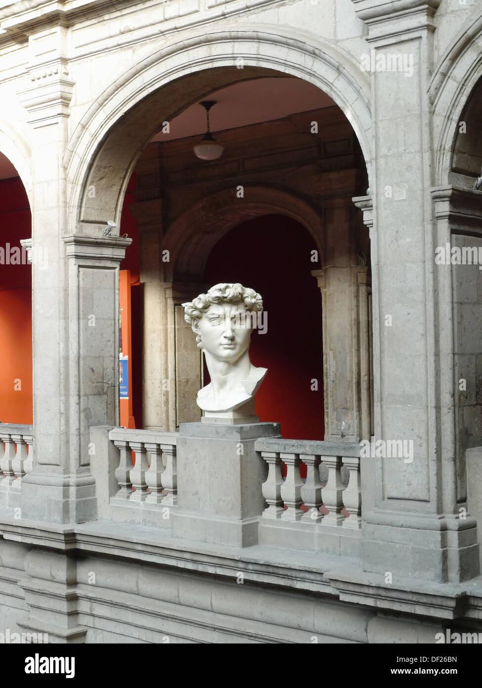 Academia de San Carlos. Ciudad de México. Stock Photo