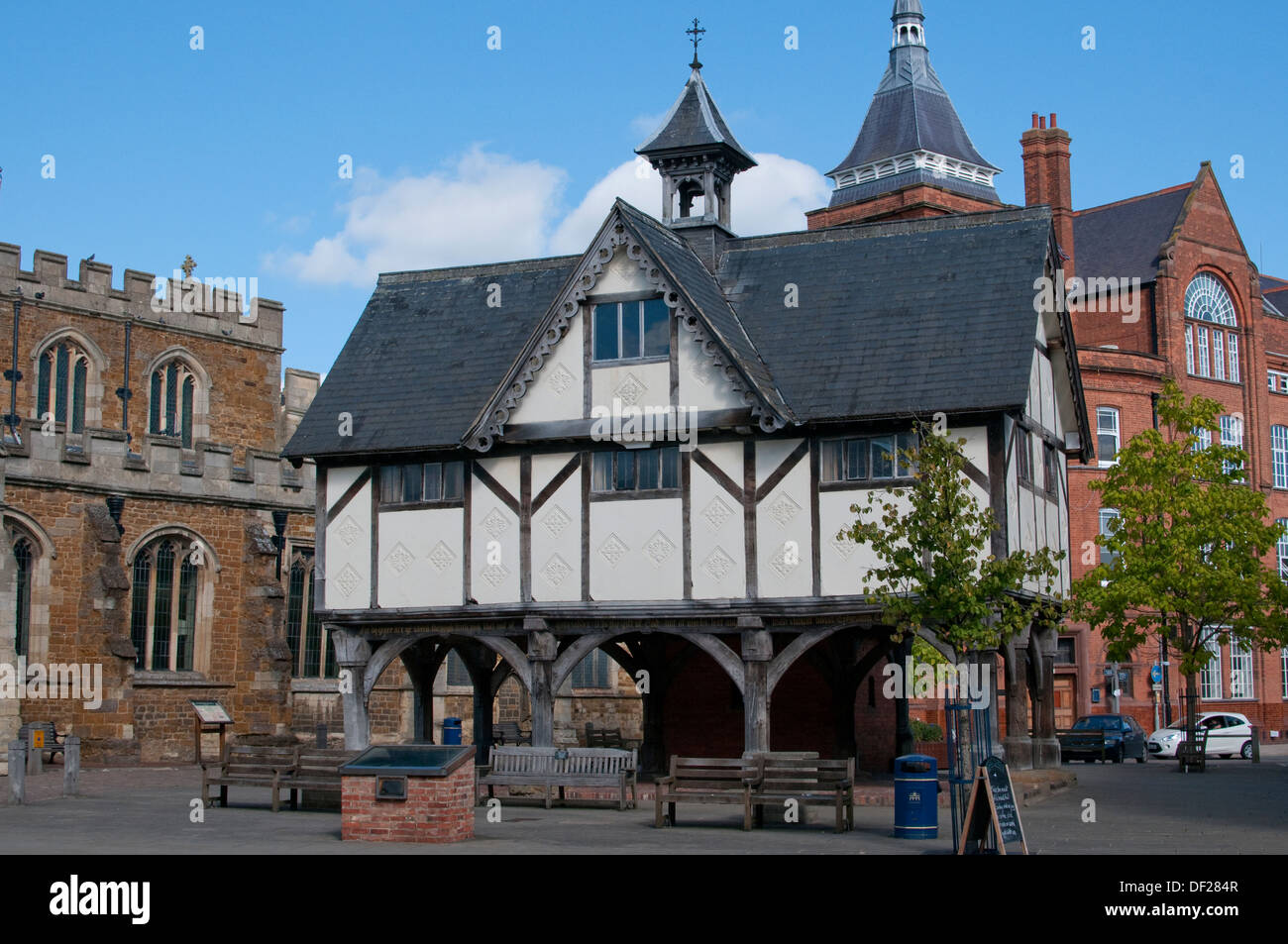 The Old Grammar School, Market Harborough, Leicester - Stock Image