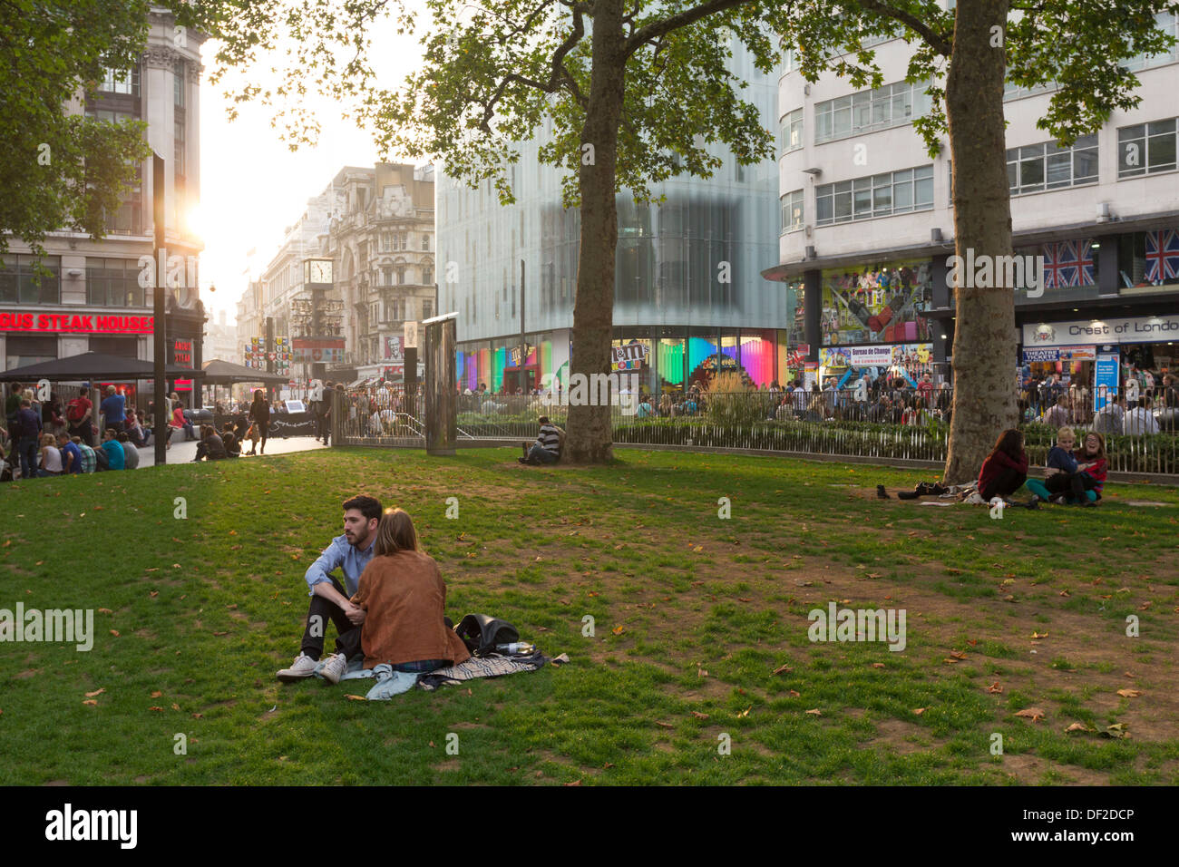 Leicester Square - Westminster - London - Stock Image