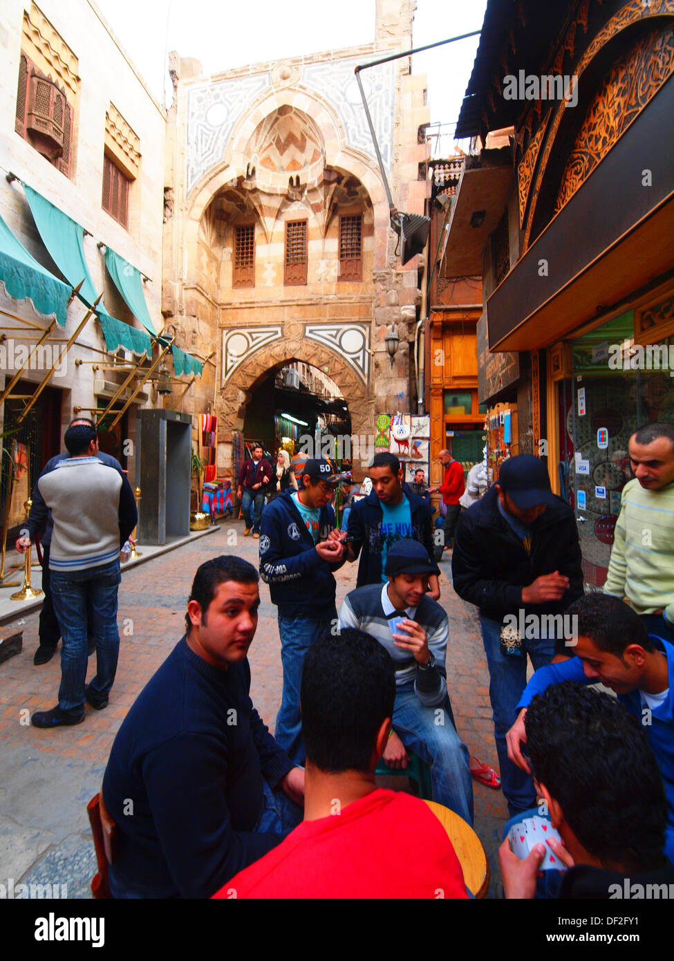 Khan El Khalili, Islamic Quarter, Cairo, Egypt Stock Photo