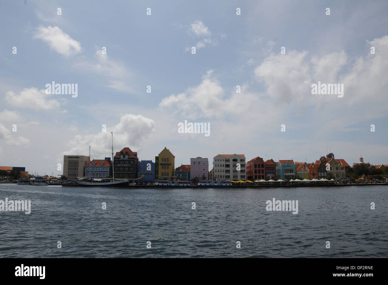 Curaçao The original inhabitants of Curaçao were Arawak peoples. The first Europeans to see the island - Stock Image