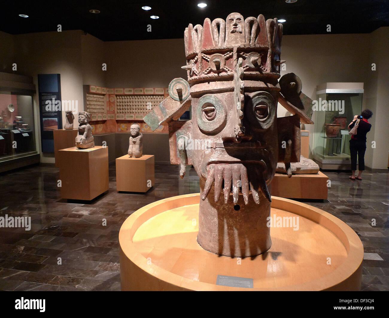 Museo Nacional de Antropologia. Ciudad de Mexico - Stock Image