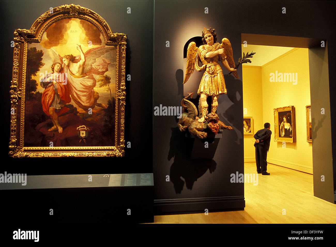 National Museum of Fine Arts of Quebec, Quebec City, Quebec, Canada - Stock Image