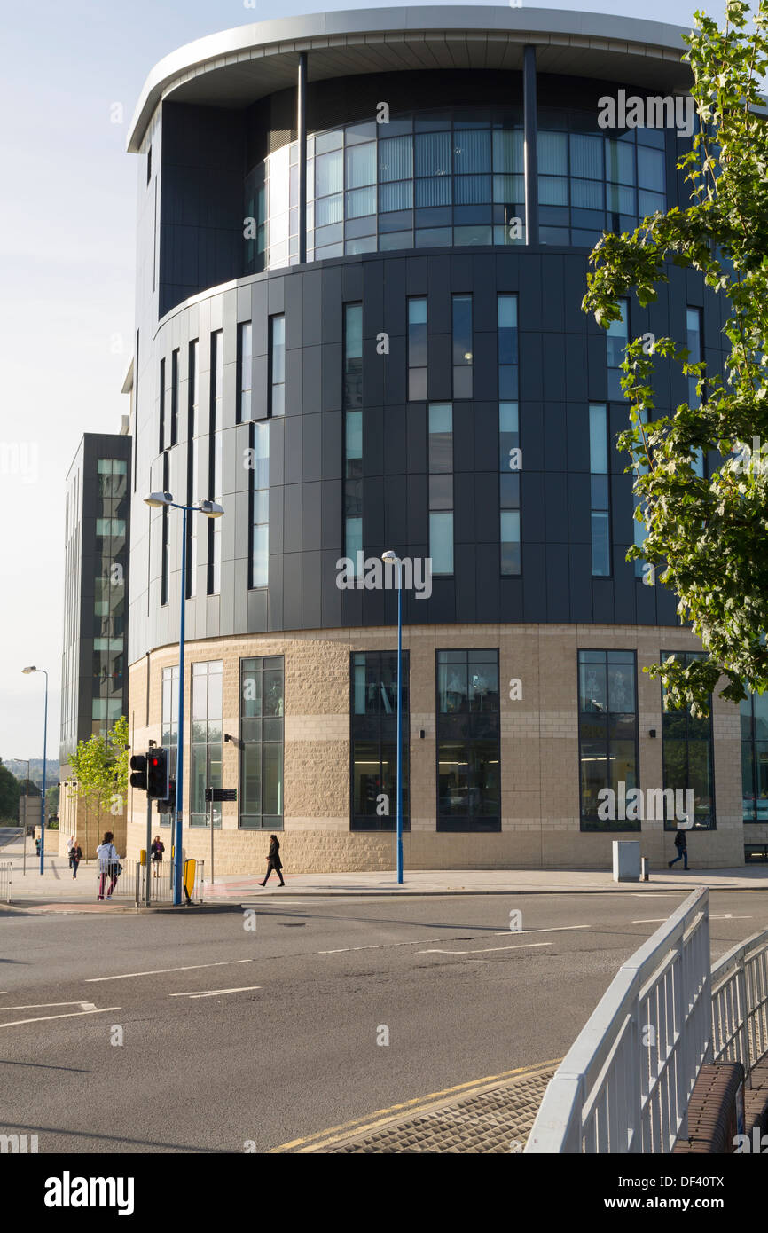 Sandwell College building in West Bromwich - Stock Image
