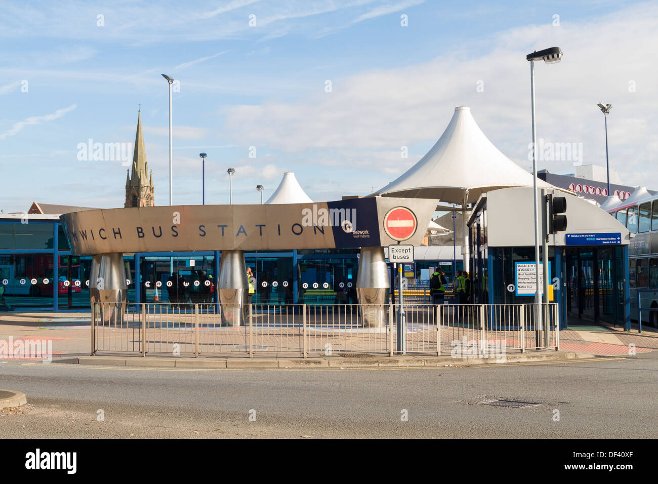West Bromwich bus station - Stock Image