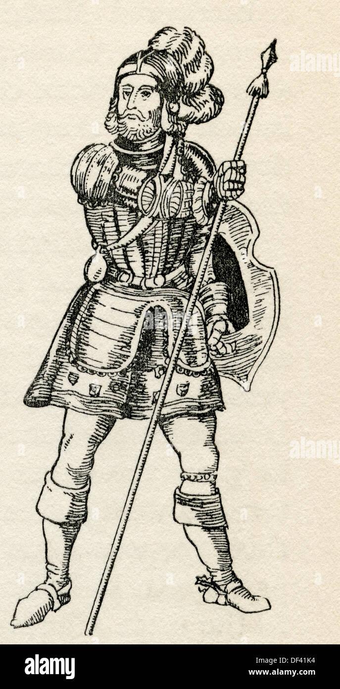 Infante Henry, Duke of Viseu, 1394 – 1460, aka Henry the Navigator. Portuguese explorer. - Stock Image