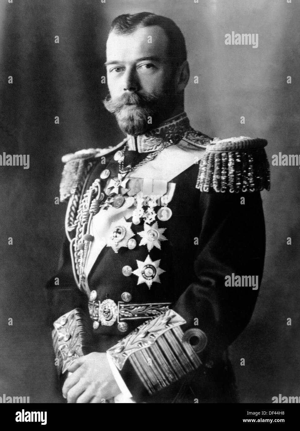 czar nicholas ii 1868 1918 last emperor of russia portrait 1917