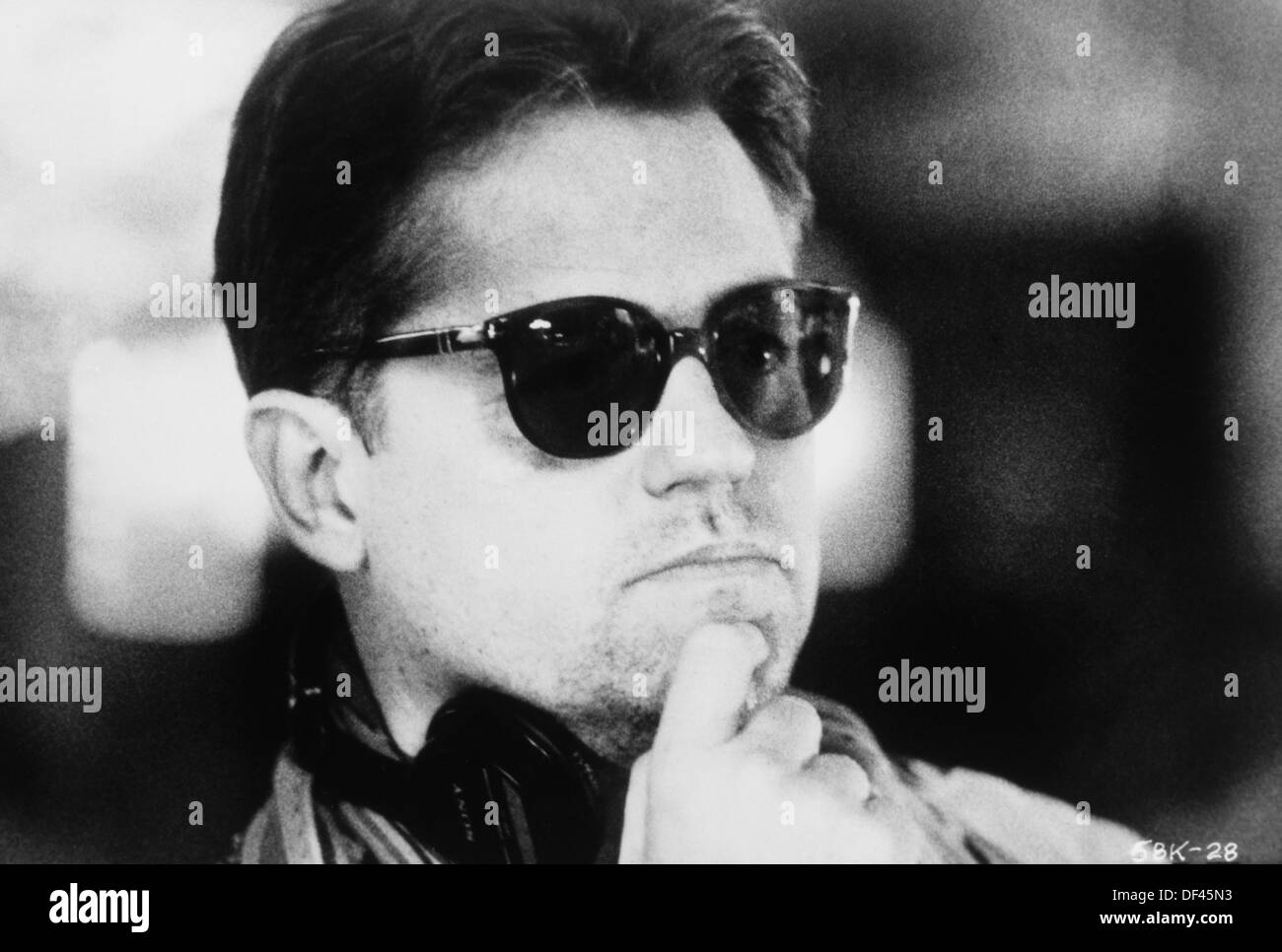 Jonathan Demme, Film Director, Portrait, 1988 - Stock Image