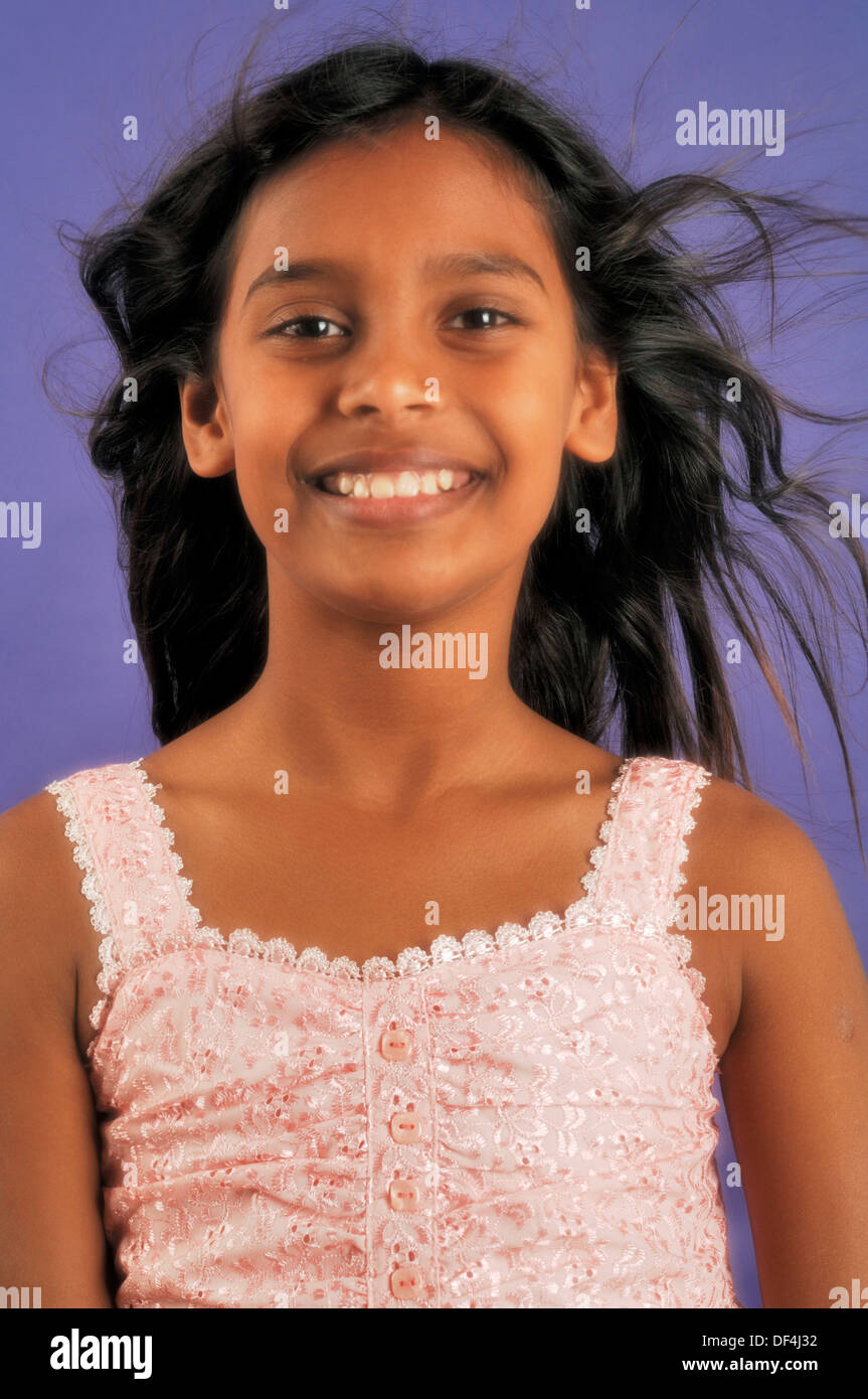 11 Year Old Indian Girl Stock Photo: 60952950