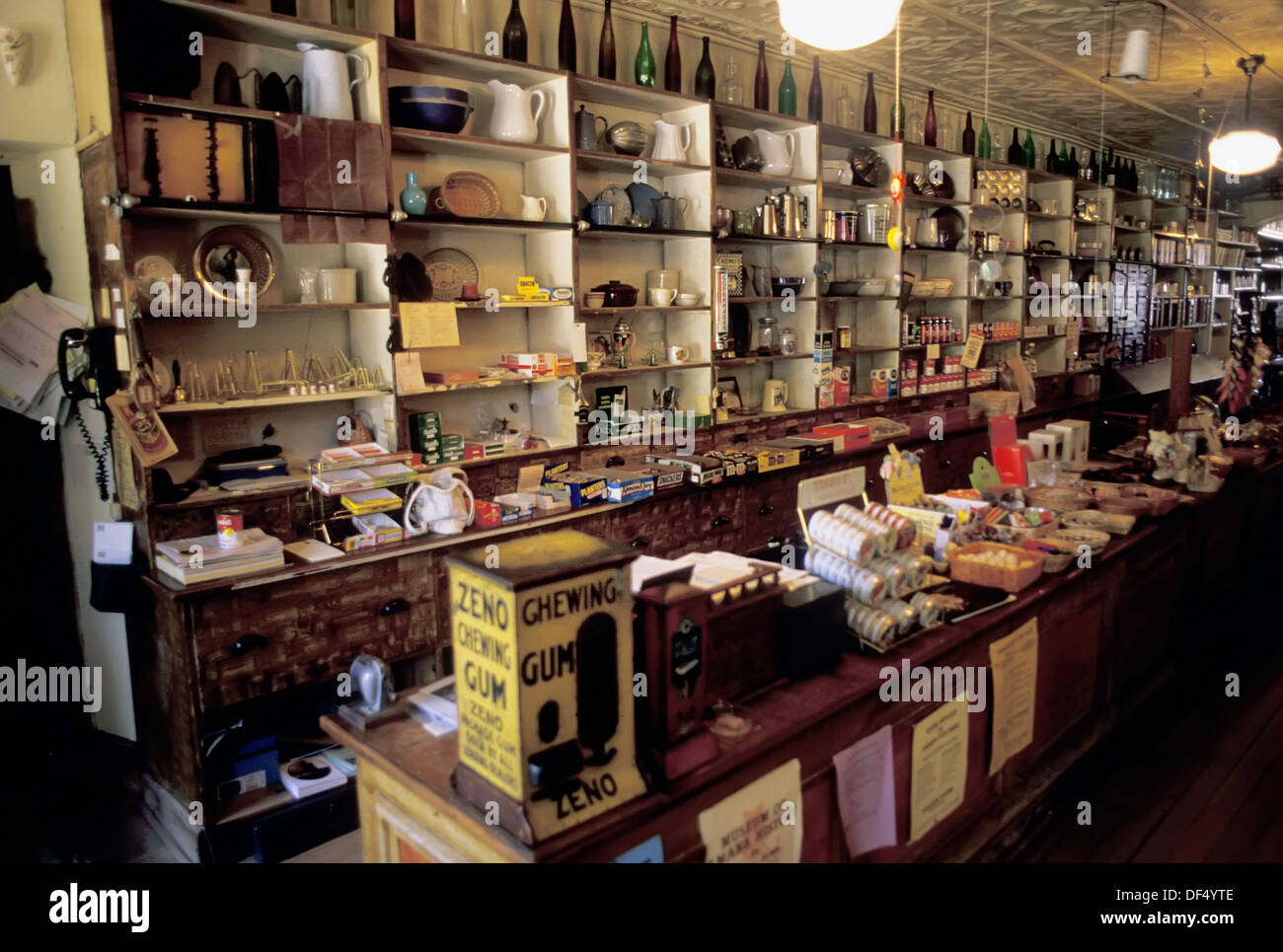 Old Time General Store In High Amana In The Amana Colonies Iowa Ia