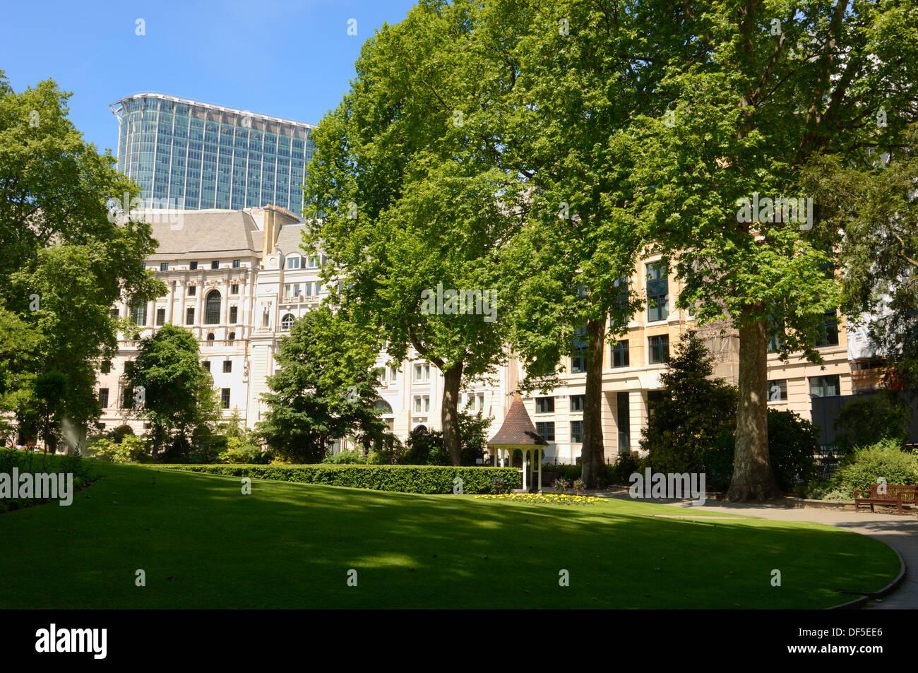 Finsbury Circus, City of London, London EC2M , United Kingdom - Stock Image