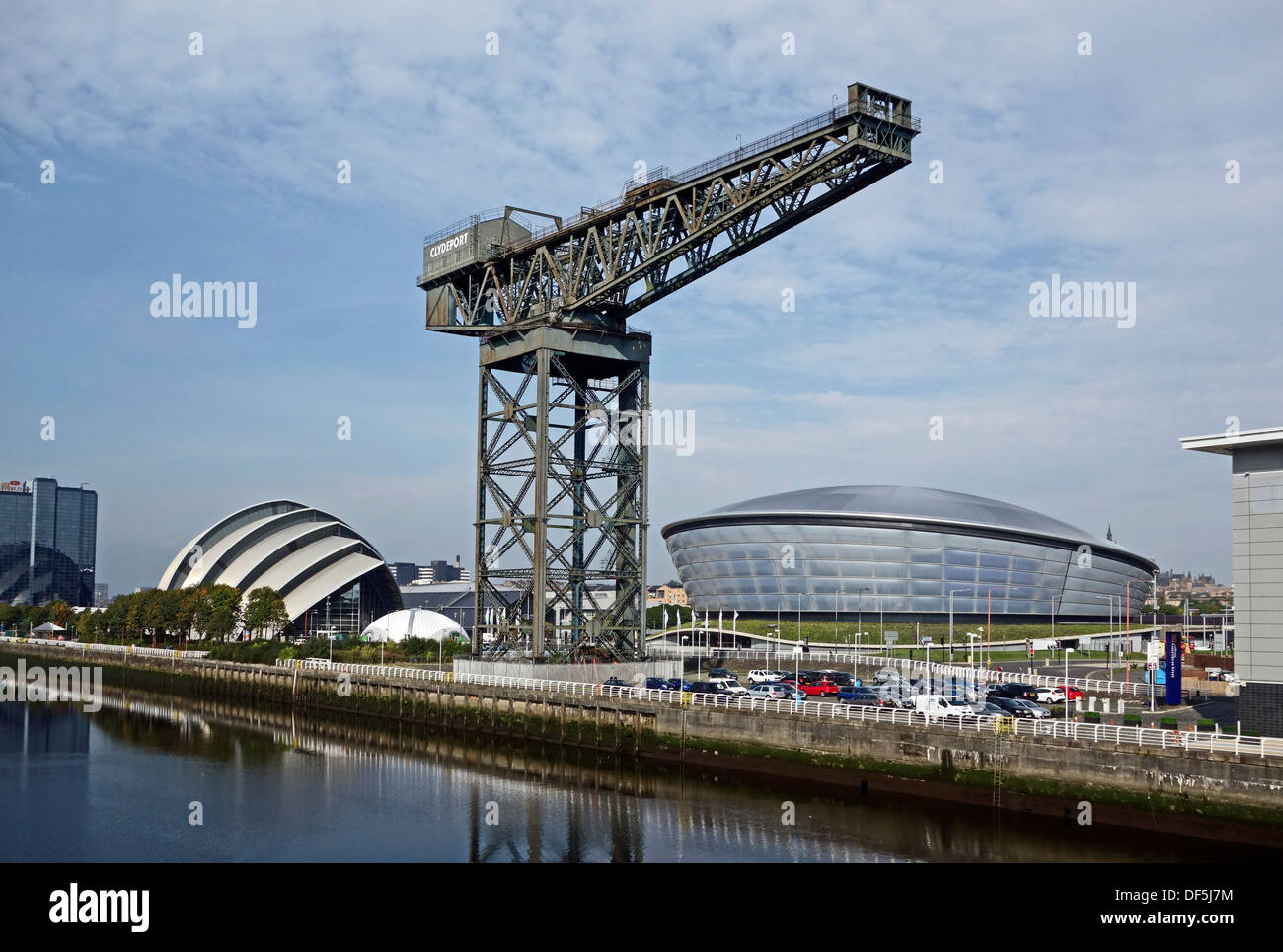 Newly completed SSE The Hydro venue as part of Scottish Exhibition and Conference Centre in Finnieston Glasgow Scotland - Stock Image