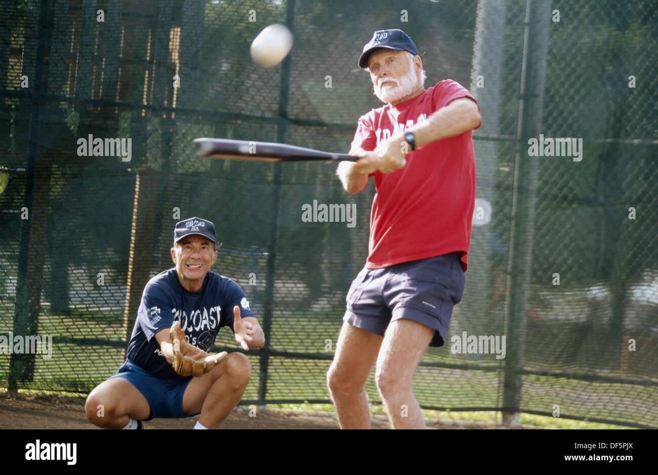 Senior Softball Stock Photos & Senior Softball Stock Images - Alamy