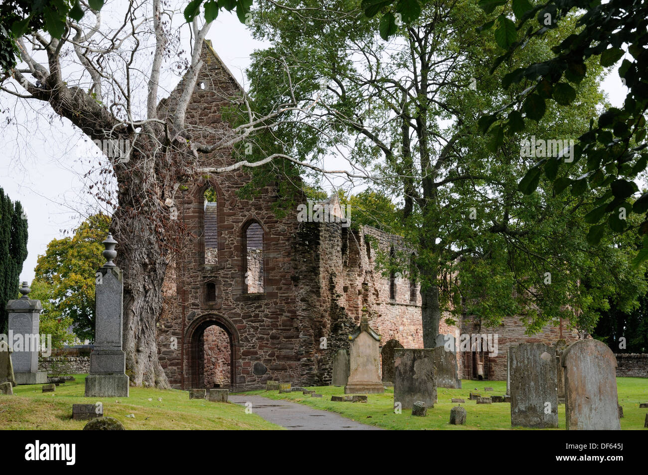 Beauly Priory, Inverness, Scotland Stock Photo