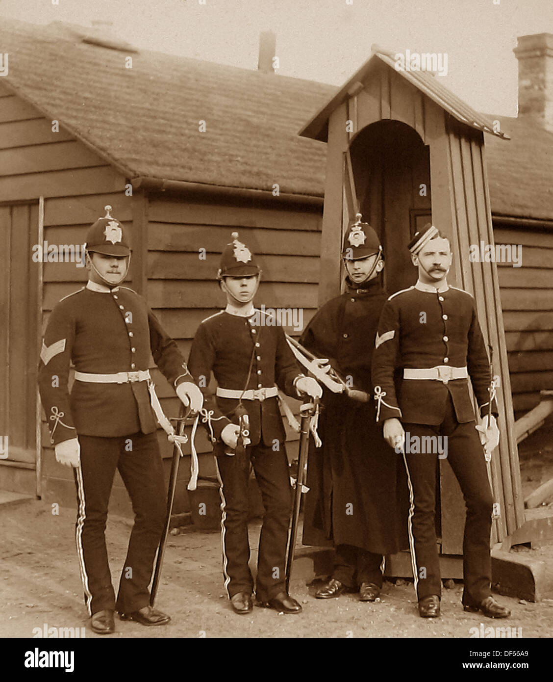 Commissariat and Transport Corps Victorian period - Stock Image