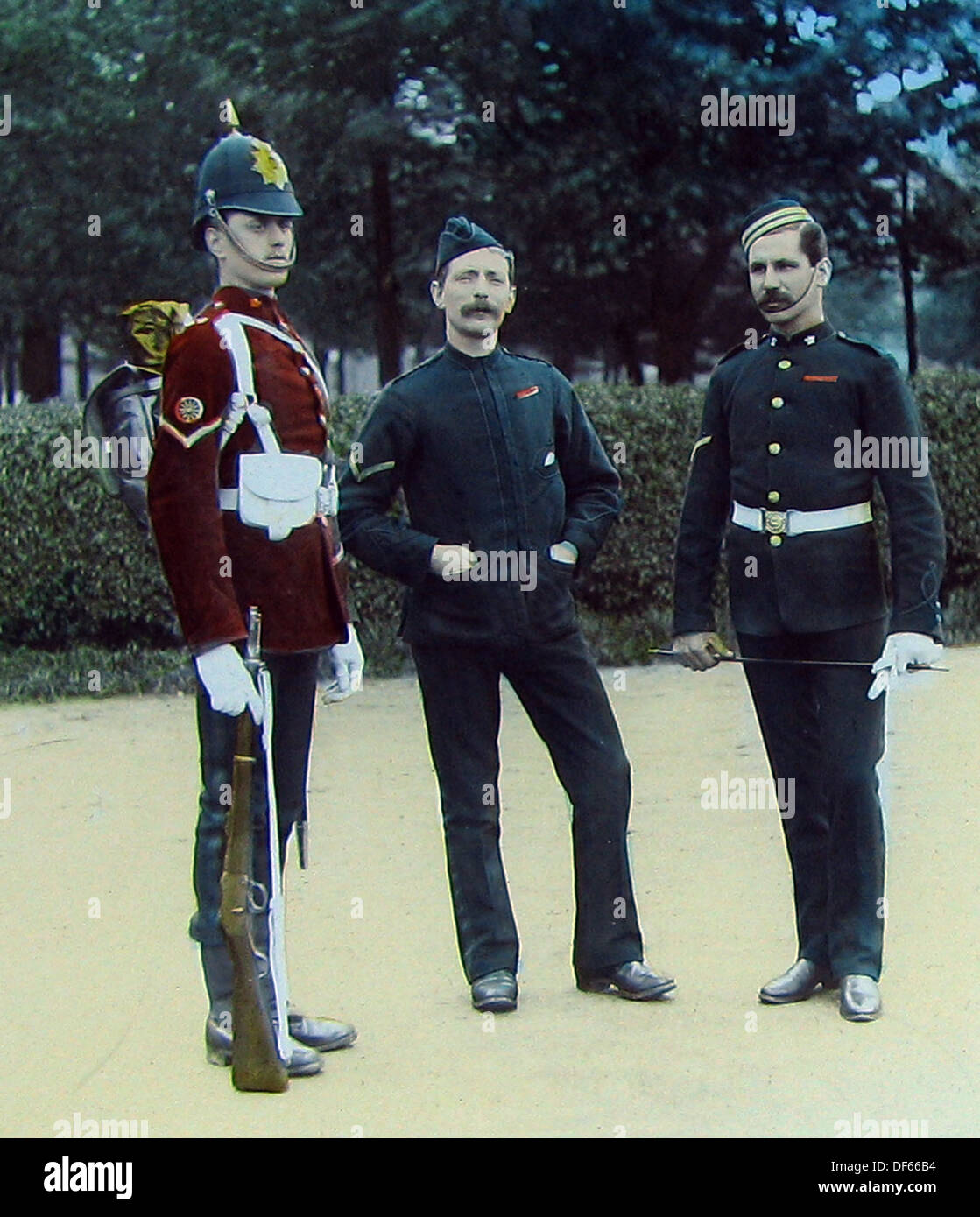 Royal Army Ordnance Corps Victorian period - Stock Image