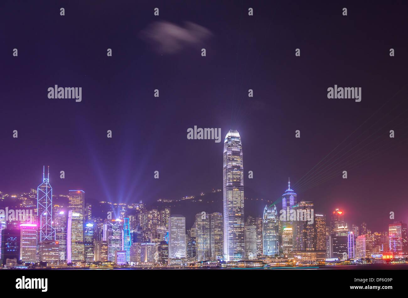 hongkong,building business,skyscraper,tower - Stock Image