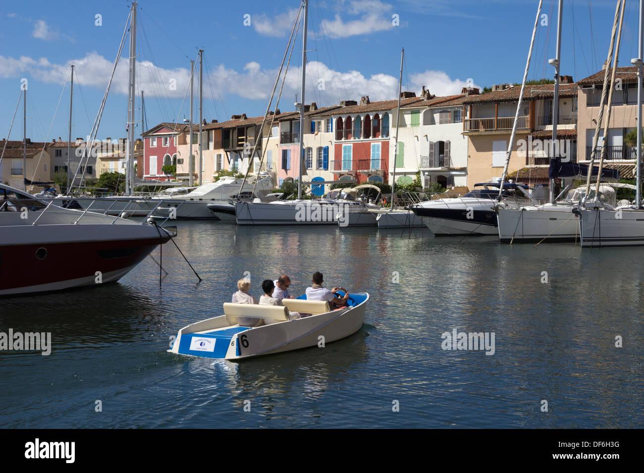 Port Grimaud, Var, Provence-Alpes-Cote d'Azur, France, Europe - Stock Image