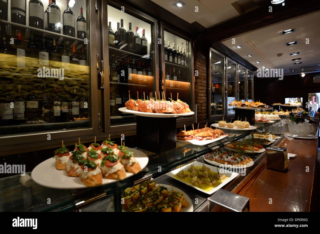 Europe, Spain, Barcelona, Bar, Tapas, Food Stock Photo: 61000872 - Alamy