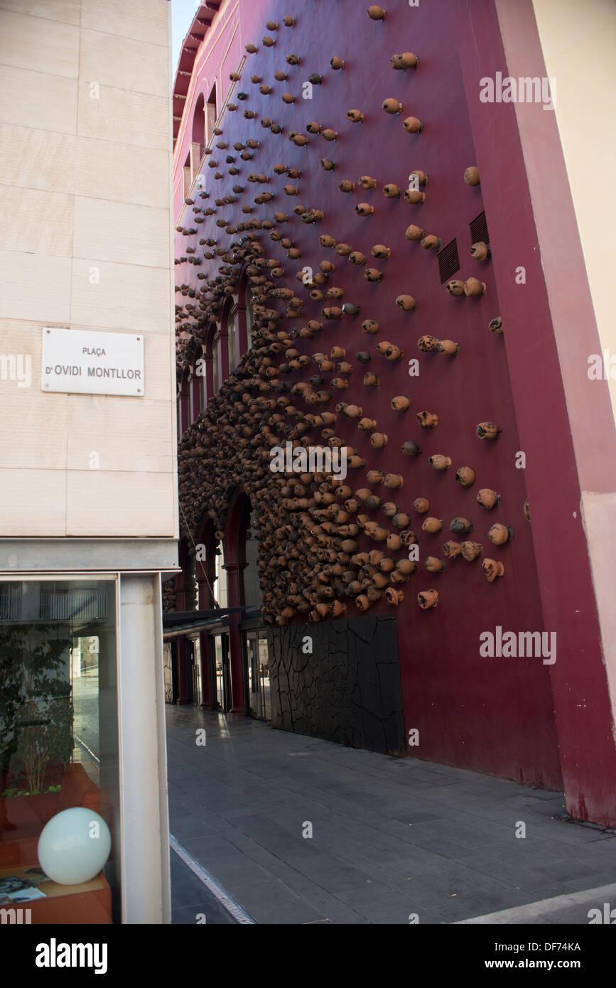 Europe, Spain, Barcelona, Teatre de les flors - Stock Image
