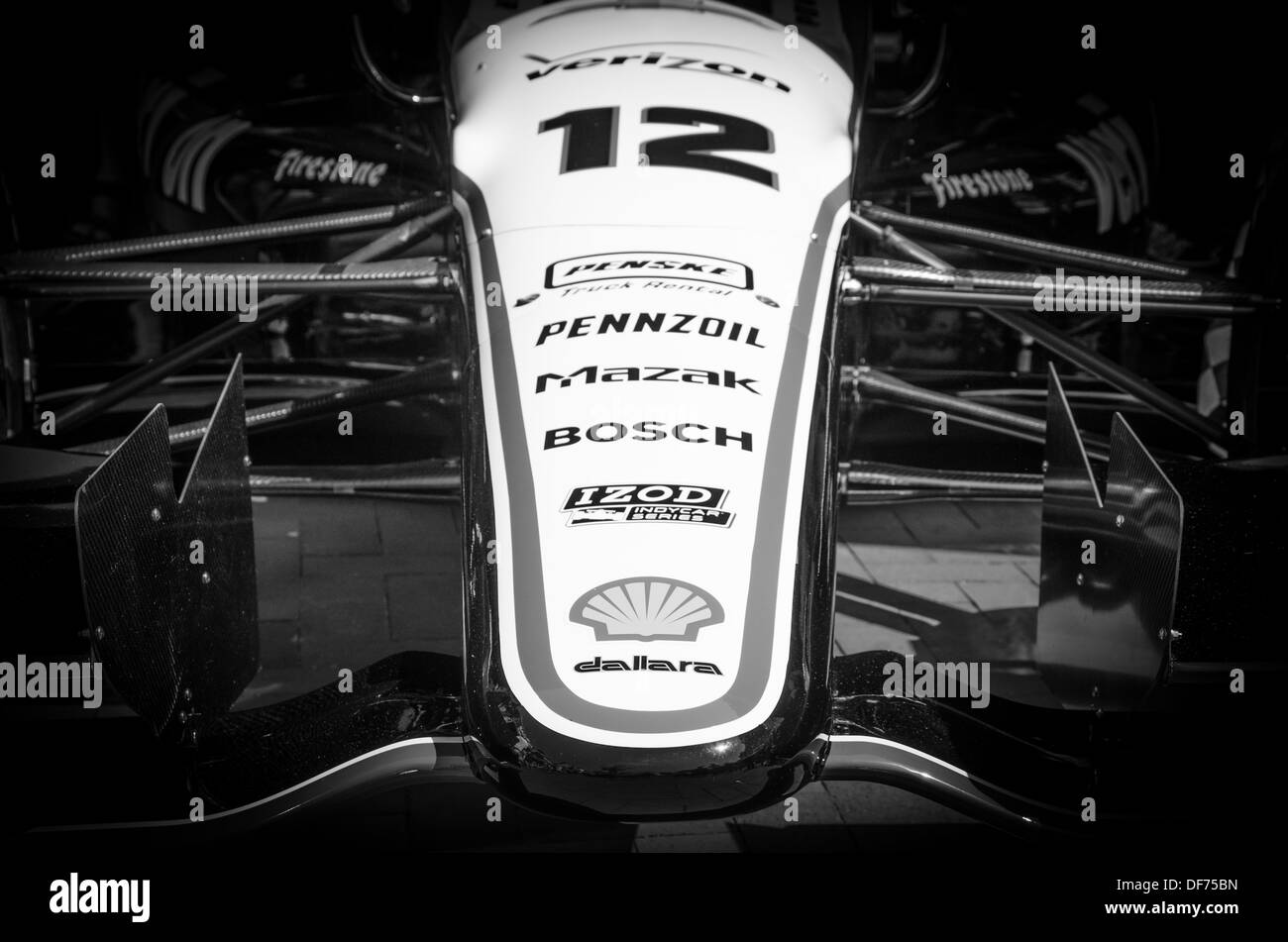 Indy Car at the Baltimore Grand Prix - Stock Image